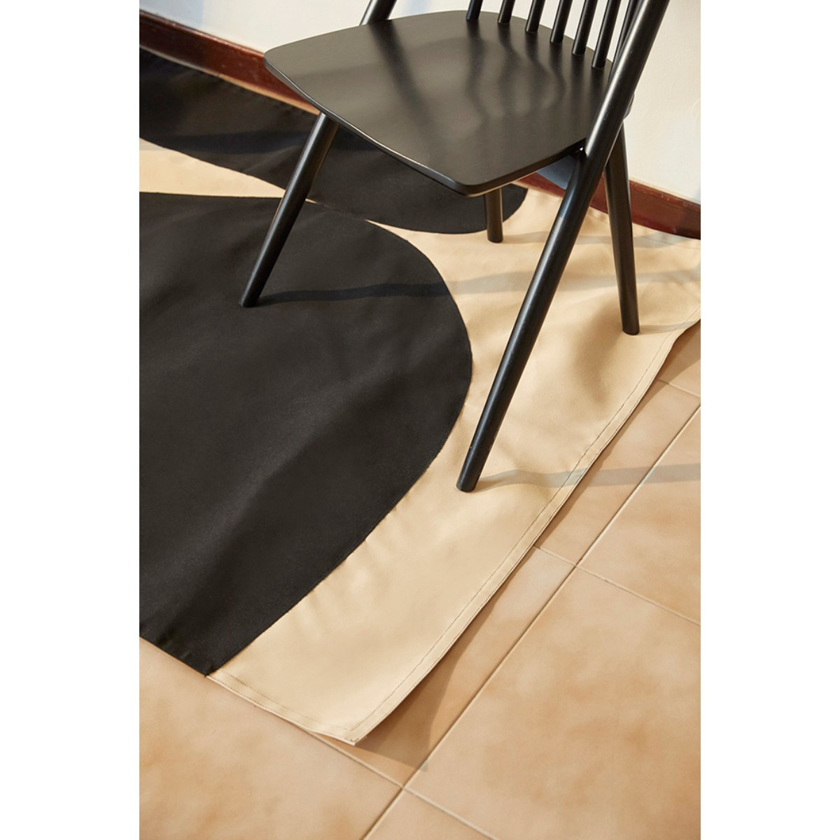 ONION PICNIC MAT black