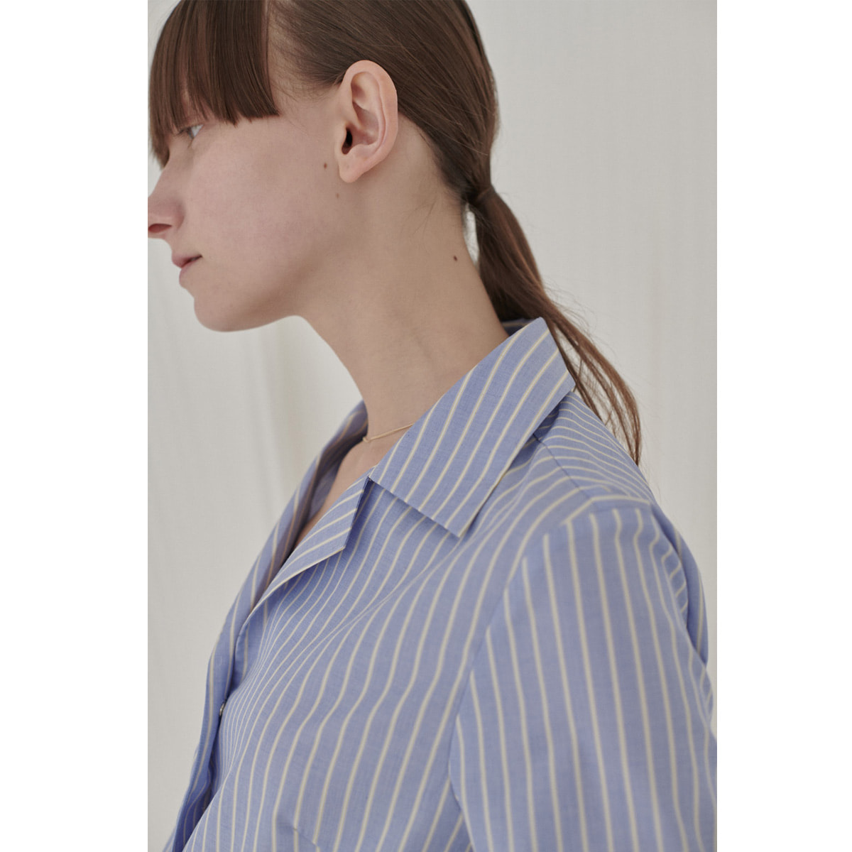 SERO STRIPE SHIRT | blue stripe | 4.10 발송예정