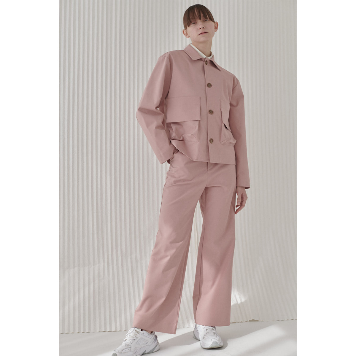 POCKETO TROUSERS | dusty pink