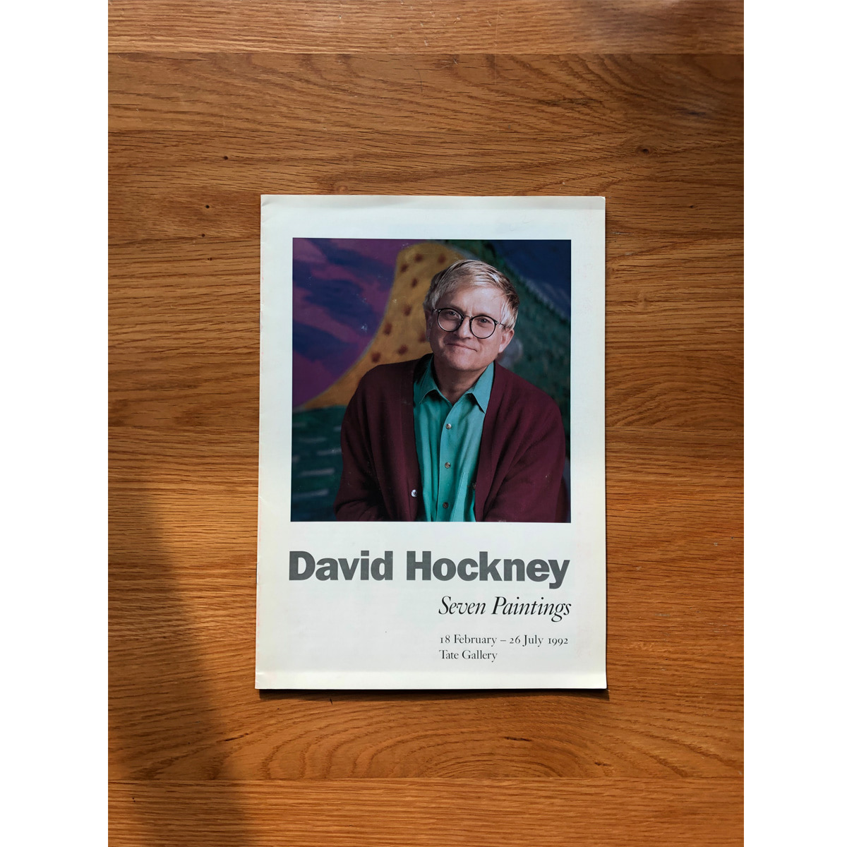 David Hockney Seven Paintings 1992
